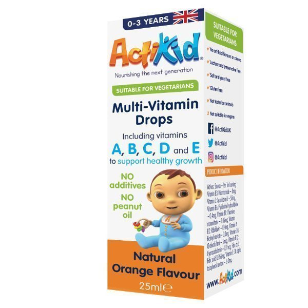 Multi Vitamin Drops Box