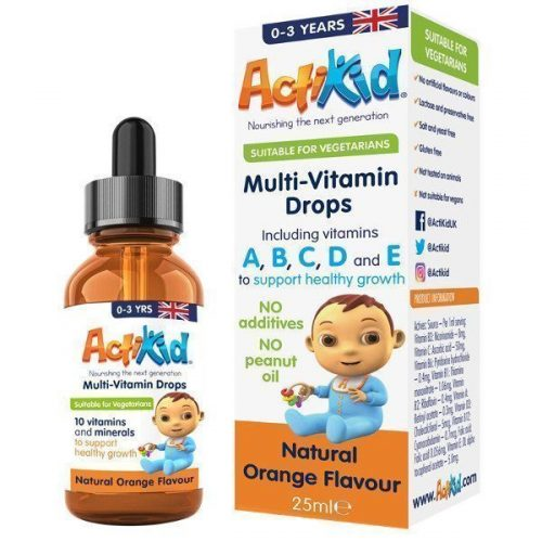 Multi-Vitamins box bottle