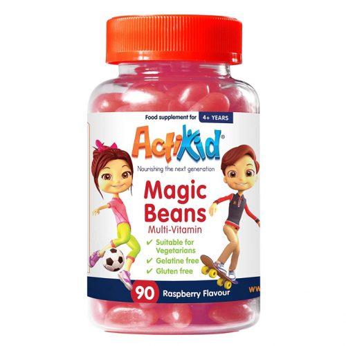 ActiKid® Magic Beans Multi-Vitamin Raspberry Flavour
